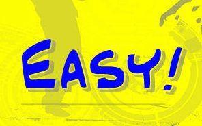 Logo - Easy! - blau-gelb