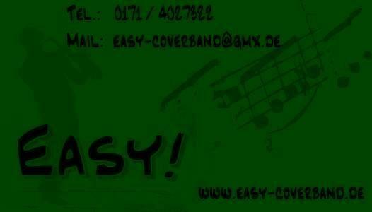 Easy! - schwarz-grün