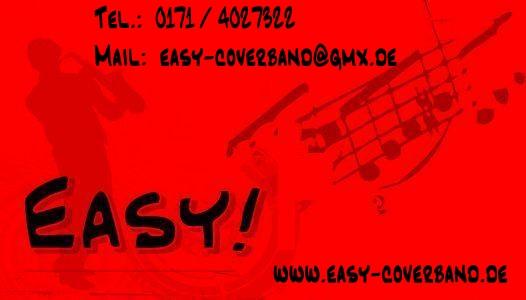 Easy! - schwarz-rot